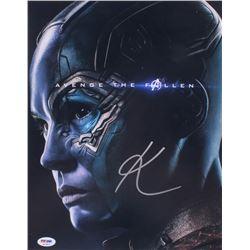 """Karen Gillan Signed """"Avengers: Endgame"""" 11x14 Photo (PSA COA)"""