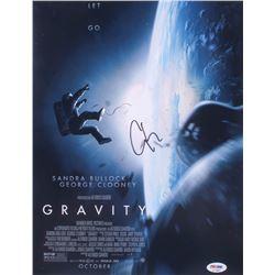 "George Clooney Signed ""Gravity"" 11x14 Photo (PSA COA)"