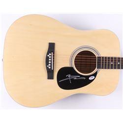 Pete Townshend Signed Acoustic Guitar (PSA COA)