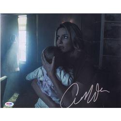 "Annabelle Wallis Signed ""Annabelle"" 11x14 Photo (PSA COA)"