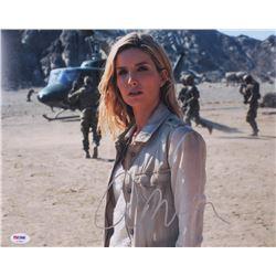 "Annabelle Wallis Signed ""The Mummy"" 11x14 Photo (PSA COA)"