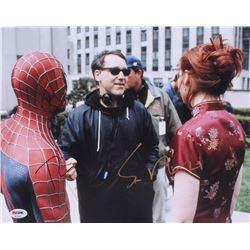 "Sam Raimi  Tobey Maguire Signed ""Spider-Man"" 11x14 Photo (PSA COA)"