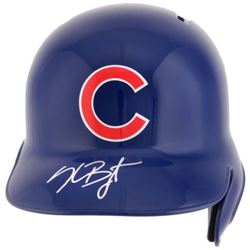 Kris Bryant Signed Chicago Cubs Full-Size Helmet (Fanatics Hologram)