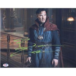 "Benedict Cumberbatch Signed ""Doctor Strange"" 11x14 Photo (PSA COA)"