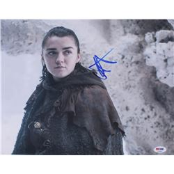 """Maisie Williams Signed """"Game of Thrones"""" 11x14 Photo (PSA COA)"""