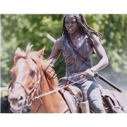 "Danai Gurira Signed ""The Walking Dead"" 11x14 Photo (PSA COA)"