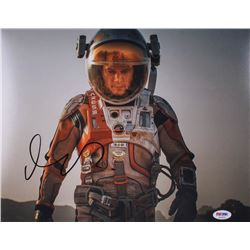 "Matt Damon Signed ""The Martian"" 11x14 Photo (PSA COA)"