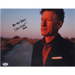 """Lyle Lovett Signed 11x14 Photo Inscribed """"All the Best,""""  """"2019"""" (PSA COA)"""