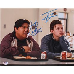 "Tom Holland  Jacob Batalon Signed ""Spider-Man: Homecoming"" 11x14 Photo (PSA COA)"