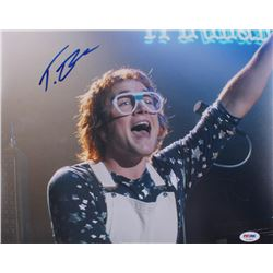"Taron Egerton Signed ""Rocketman"" 11x14 Photo (PSA COA)"