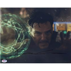 "Benedict Cumberbatch Signed ""Doctor Strange"" 11x14 Photo (PSA COA)"