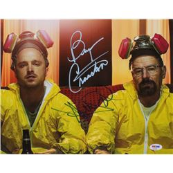 "Bryan Cranston  Aaron Paul Signed ""Breaking Bad"" 11x14 Photo (PSA COA)"