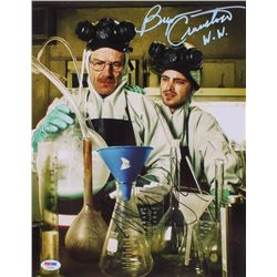 "Bryan Cranston  Aaron Paul Signed ""Breaking Bad"" 11x14 Photo Inscribed ""W.W."" (PSA COA)"