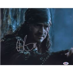 "Orlando Bloom Signed ""Pirates of the Caribbean"" 11x14 Photo (PSA Hologram)"