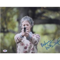 "Melissa McBride Signed ""The Walking Dead"" 11x14 Photo (PSA Hologram)"