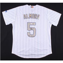 Albert Almora Jr. Signed Chicago Cubs Jersey (JSA COA)