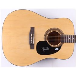 "Adam Levine Signed 40"" Acoustic Guitar (Beckett COA)"