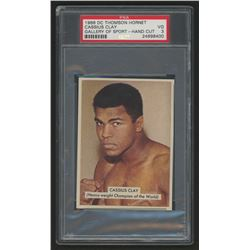 1966 D.C. Thomson The Hornet Gallery of Sport #1-5 Cassius Clay (PSA 3)