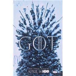 "Isaac Hempstead Wright Signed ""Game of Thrones"" 12x18 Photo (PSA COA)"