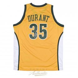 Kevin Durant Signed Seattle Supersonics Jersey (Panini COA)