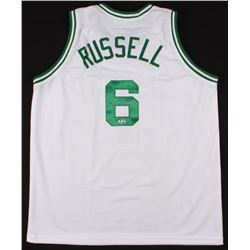 Bill Russell Signed Jersey (Hollywood Collectibles Hologram)