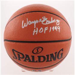 "Wayne Embry Signed Game Ball Series Basketball Inscribed ""HOF 1999"" (JSA COA)"
