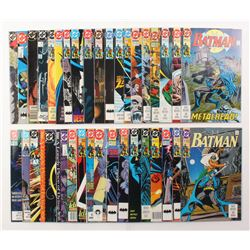 """Lot of (36) 2003-2005 DC """"Batman"""" Comic Books Issues with #486, #490, #475, #467, #440"""