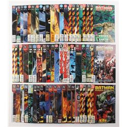 """Lot of (58) 1992-2000 DC """"Batman Shadow Of The Bat"""" Comic Books Issues with #88, #75, #66, #9, #2"""