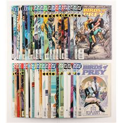 """Lot of (48) 1999-2003 DC """"Birds of Prey"""" 1st Series Comic Books Issues with #47, #27, #39, #1, #16"""