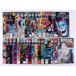 """Lot of (32) 1989-1991 DC """"Detective Comics"""" 1st Series Comic Books Issues with #625, #610, #620, #63"""