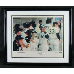 Reggie Jackson Signed LE New York Yankees 16x20 Custom Framed Photo Display (UDA Hologram)