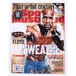 Floyd Mayweather Jr. Signed 2015 Sports Illustrated Magazine (Beckett COA)
