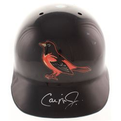 Cal Ripken Jr Signed Baltimore Orioles Authentic Full-Size Batting Helmet (Steiner Hologram  MLB Hol