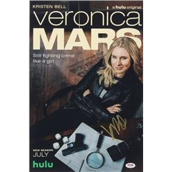"Kristen Bell Signed ""Veronica Mars"" 12x18 Photo (PSA COA)"