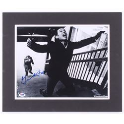 "Gene Hackman Signed ""The French Connection"" 15x18 Custom Matted Photo Display (PSA COA)"