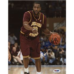 James Harden Signed Arizona State Sun Devils 8x10 Photo (PSA COA)