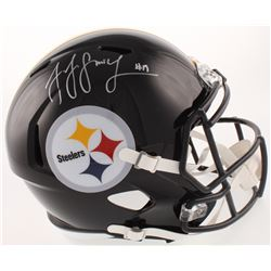 JuJu Smith-Schuster Signed Pittsburgh Steelers Full-Size Speed Helmet (Beckett COA)