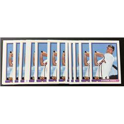 Lot of (15) 1991 Bowman #569 Chipper Jones RC
