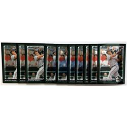 Lot of (10) 2010 Bowman Chrome Draft #BDP61 Buster Posey RC