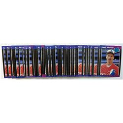 Lot of (50) 1989 Donruss #42 Randy Johnson RC