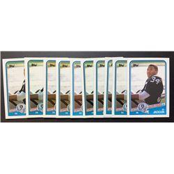 Lot of (10) 1988 Topps #327 Bo Jackson SR RC
