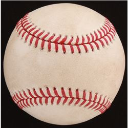 2018 Toronto Blue Jays at Yankees Stadium Game-Used OML Baseball (Steiner LOA  MLB Hologram)