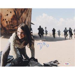 "Dafne Keen Signed ""Logan"" 11x14 Photo (PSA COA)"