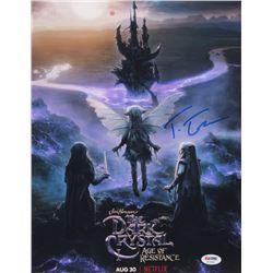 "Taron Egerton Signed ""The Dark Crystal: Age of Resistance"" 11x14 Photo (PSA COA)"