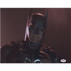 "George Clooney Signed ""Batman"" 11x14 Photo (PSA COA)"
