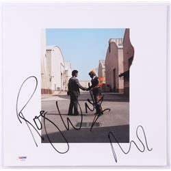 """Roger Waters  Nick Mason Signed Pink Floyd """"Wish You Were Here"""" Vinyl Record Album Cover (PSA LOA)"""