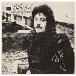 "Billy Joel Signed ""Cold Spring Harbor"" Vinyl Album Cover (PSA COA)"