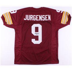 """Sonny Jurgensen Signed Jersey Inscribed """"HOF 83"""" (JSA COA)"""