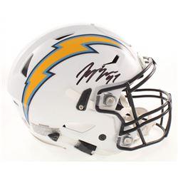 Joey Bosa Signed San Diego Chargers Full-Size Authentic On-Field Flex Speed Helmet (JSA COA)