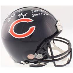 "Brian Urlacher Signed Chicago Bears Full-Size Authentic On-Field Helmet Inscribed ""HOF 2018"", ""2000"